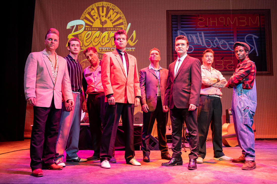 The cast of Sun Records, The Concert