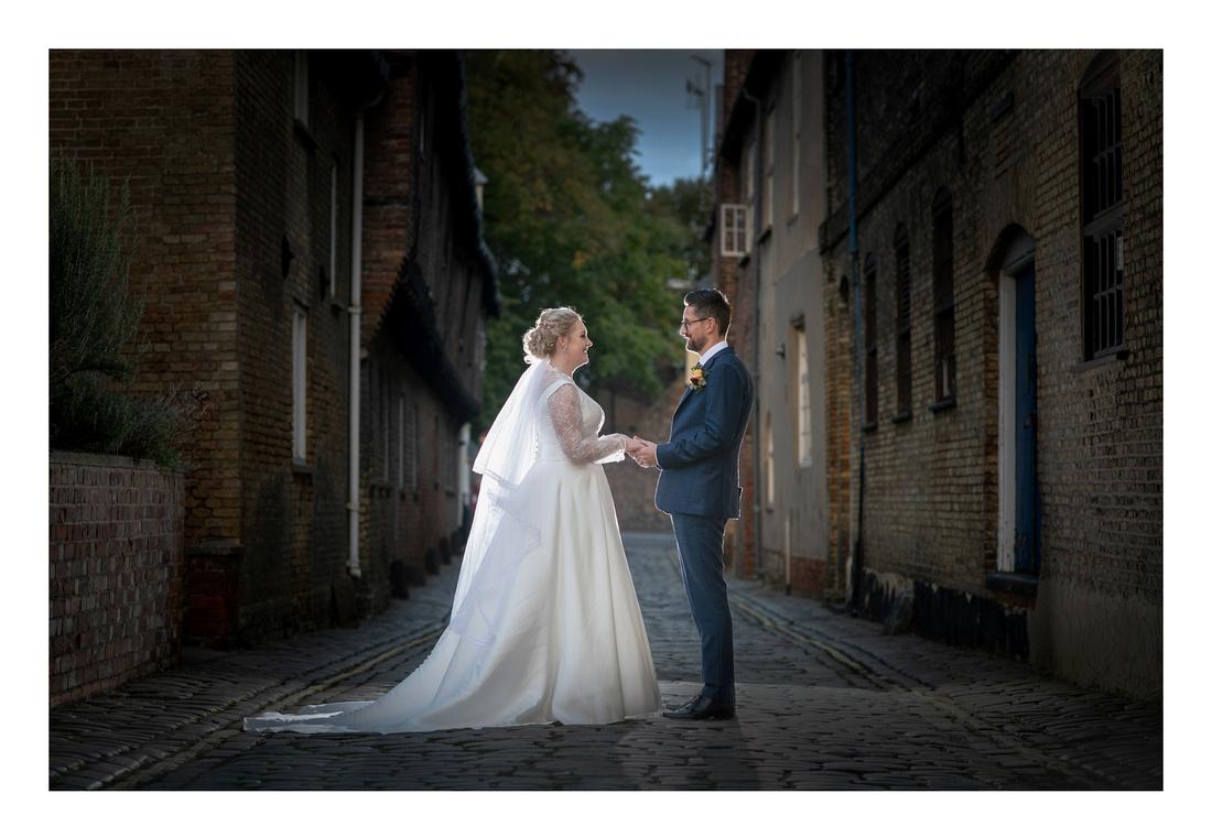Zoë & Tony's wedding in King's Lynn on the 5th October 2019